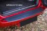 Накладка на бампер задний (верхняя часть) для Toyota Rav4 2006-2010 г.в.