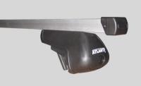 Багажник Atlant (на рейлинги) для Chevrolet Spark Hatchback 2010-...г.в.