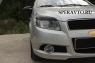 Реснички на фары для Chevrolet Aveo хэтчбек 2008-2012 г.в.