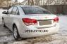 Накладка на бампер задний для Chevrolet Cruze 2009-...г.в