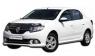 Дефлектор капота (мухобойка) на Renault Logan II 2014-...г.в.