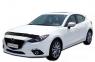 Дефлектор капота (мухобойка) на Mazda 3 2013-...г.в. седан