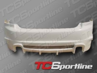 Бампер задний обвеса Sportline для Honda Accord 2002 - 2007 г.в.