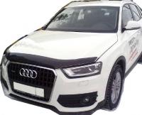 Дефлектор капота (мухобойка) на Audi Q3 (2011-... г.в.)