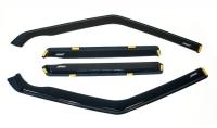Накладные дефлекторы окон (ветровики) на ВАЗ 2109-99, 2114