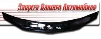 Дефлектор капота для BMW 1 серии (2004 г.в.) шелкография