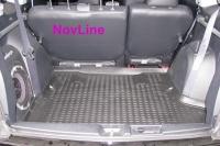 Коврик в багажник для Citroen C-Crosser 2007-...г.в. с сабвуфером