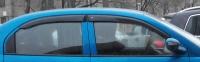 Ветровики (дефлекторы окон) на Chery QQ6, Jaggi, S21 (2006-... г.в.)