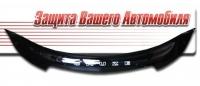 Дефлектор капота на Chevrolet Cruze (2009 г.в.) шелкография