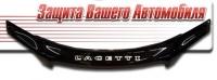 Дефлектор капота для Chevrolet Lacetti седан (2006 г.в.) шелкография