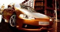 Бампер передний обвеса Extrim для Honda Civic 1992-1995 г.в.