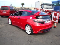 Спойлер Mugen для Honda Civic VIII 2006 - 2010 г.в. хэтчбек
