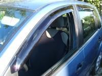 Дефлекторы окон (ветровики) для Ford Fiesta V (2002-2008 г.в.) 5 дверей