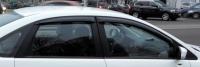 Дефлекторы окон (ветровики) для Ford Focus 2 (2004-2011 г.в.) седан и хэтчбек