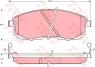 Тормозные колодки передние для Nissan Teana J31, J32 (2003-2008)