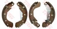 Тормозные колодки задние для Chevrolet Aveo I (T200, T250, T255) (2003-2012 г.в.)