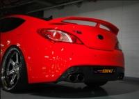 Спойлер GTR для Hyundai Genesis 2010 - 2012 г.в. купе