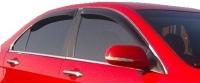 Дефлекторы окон (ветровики) для Honda Accord VII (2003-2007 г.в.) седан