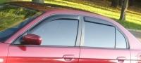 Дефлекторы окон (ветровики) для Honda Civic VII (2001-2007 г.в.) седан