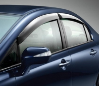 Дефлекторы окон (ветровики) для Honda Civic VIII (2006-2011 г.в.) седан