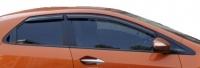 Ветровики (дефлекторы окон) для Honda Civic VIII (2006-2011 г.в.) 5 дв. хэтчбек