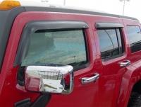 Дефлекторы окон (ветровики) для Hummer H3 (2005-... г.в.)