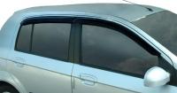 Ветровики (дефлекторы окон) на Hyundai Getz (2002-... г.в.) 5 дверный