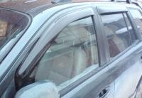 Дефлекторы окон (ветровики) для Hyundai Santa Fe I Classic (2000-2006 г.в.; 2007-... сборка ТагАЗ)