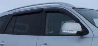 Дефлекторы окон (ветровики) для Hyundai Santa Fe II (2006-2012 г.в.)