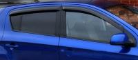 Дефлекторы окон (ветровики) для Hyundai i20 (2008-... г.в.) 5 дверный