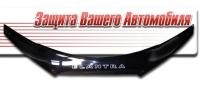 Дефлектор капота для Hyundai Elantra (2009 г.в.) шелкография