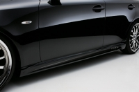 Накладки на пороги (внешние) в стиле Wald для Lexus IS 250