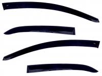 Дефлекторы окон (ветровики) для Honda Civic IX (2012-... г.в.) 5 дверный хэтчбек