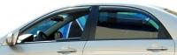 Дефлекторы окон (ветровики) для KIA Cerato I (2004-2009 г.в.) седан