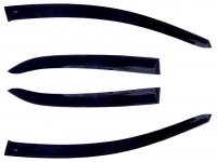 Дефлекторы окон (ветровики) для Opel Insignia (2008-... г.в.) седан и хэтчбек