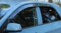 Дефлекторы окон (ветровики) для KIA Picanto II (2011-... г.в.)