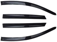 Дефлекторы окон (ветровики) для Mercedes-Benz S Class (2005-2013 г.в., кузов W221)