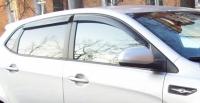 Дефлекторы окон (ветровики) для KIA Rio III (2011-... г.в.) 5 дверный хэтчбек