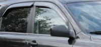 Дефлекторы окон (ветровики) для KIA Sportage II (2004-2010 г.в.; 2009-... г.в. - сборка в Калининграде)