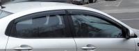 Дефлекторы окон (ветровики) для KIA Rio III (2011-... г.в.) седан