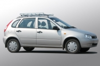 Багажник-корзина на рейлинги для Лада Калина