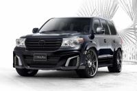 Аэродинамический обвес WALD Black Bison для Toyota Land Cruiser 200 рестайлинг