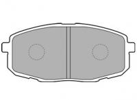 Тормозные колодки передние для KIA Ceed I (2006-2012 г.в.)