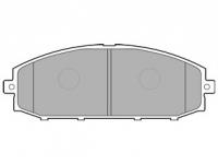 Тормозные колодки передние для Nissan Patrol Y61 (1997-2013)