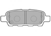 Тормозные колодки задние для Nissan Juke (2010-...)