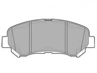 Тормозные колодки передние для Nissan Qashqai (2007-...)