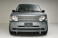 Накладка (юбка) в стиле Wald на бампер передний для Land Rover Range Rover Voque