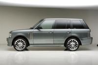 Накладки на пороги Wald (внешние) для Land Rover Range Rover Voque