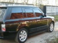 Накладки на пороги New Max (внешние) для Land Rover Range Rover Voque