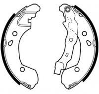 Тормозные колодки задние для Renault Clio III (2005-2012)